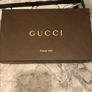 Gucci wallet leather